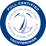 EMCI Full Certified Yachtbroker